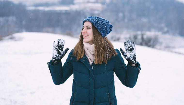 Ako chrániť pokožku pred chladným počasím?