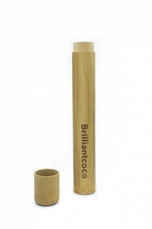 Brilliantcoco bambusové púzdro
